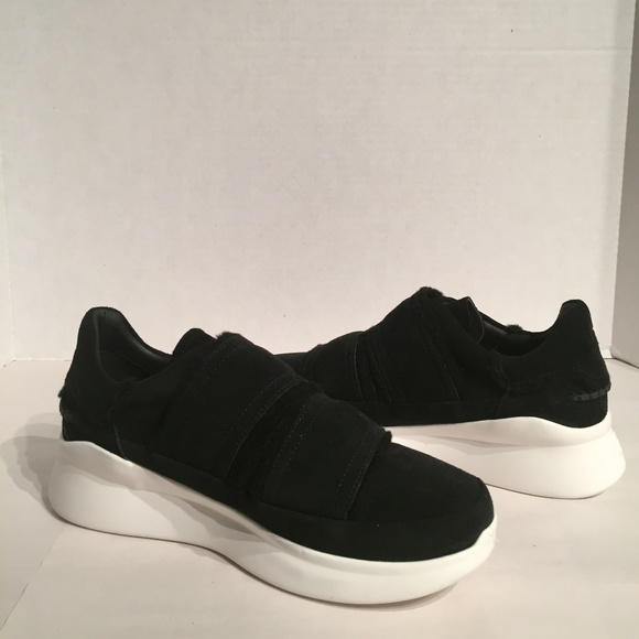 UGG Shoes - New Ugg Ashby Spill Seam Black Sneaker